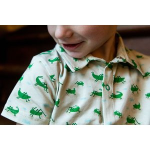 Baba-Babywear Tricot hemdje 'grasshopper'