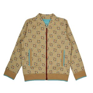 Baba-Babywear bomber jacket 'blocks'