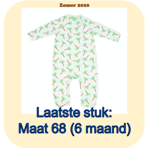 Lily Balou Gerard babysuit 'palm trees'