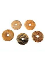 Agaat (kant) hanger donut 4 cm