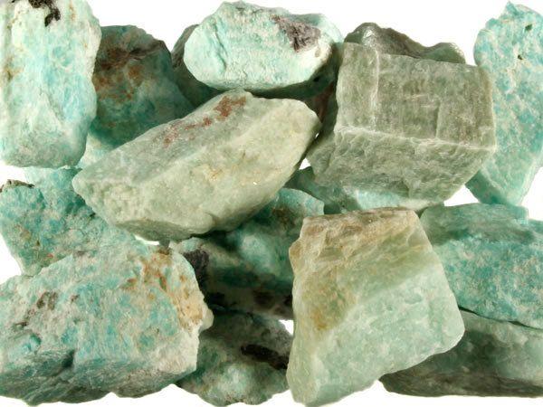 Amazoniet ruw 10 - 25 gram