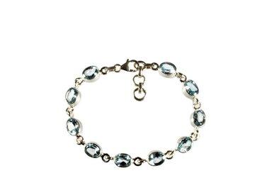 Zilveren armbanden met edelstenen