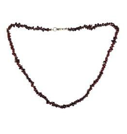 Granaat (rood) ketting split