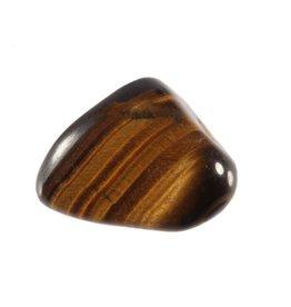 Tijgeroog steen getrommeld 10 - 20 gram