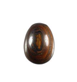 Tijgerijzer edelsteen ei 4,7 x 3,8 cm