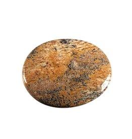 Jaspis (landschap) steen plat gepolijst