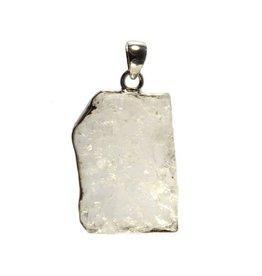 Zilveren hanger fenakiet 3,8 x 2,7 cm