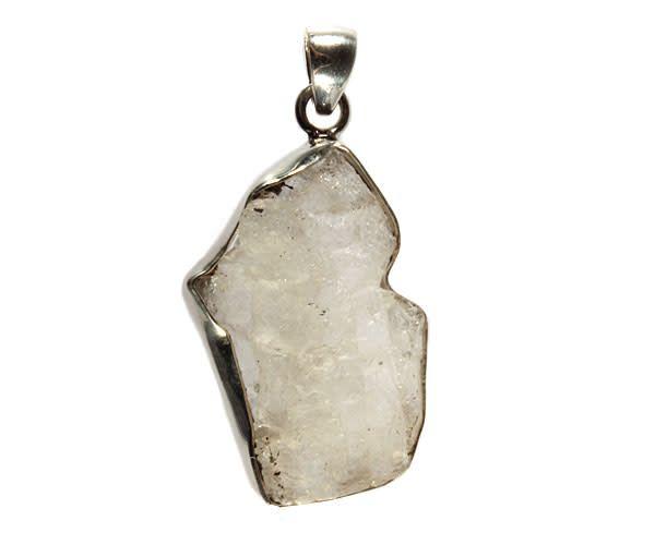 Zilveren hanger fenakiet 4 x 2,5 cm