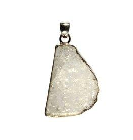 Zilveren hanger fenakiet 4 x 3 cm