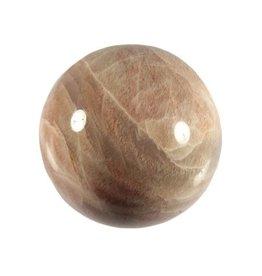 Maansteen (beige) edelsteen bol A-kwaliteit 65 mm