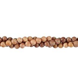 Bariet kralen rond 6 mm (streng van 40 cm)
