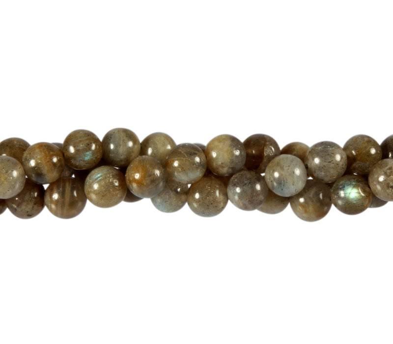 Labradoriet kralen rond 8 mm (streng van 40 cm)