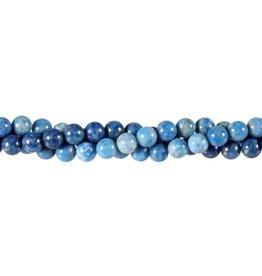 Lapis lazuli (denim) kralen rond 6 mm (streng van 40 cm)