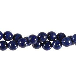 Lapis lazuli kralen A-kwaliteit rond 10 mm (streng van 40 cm)