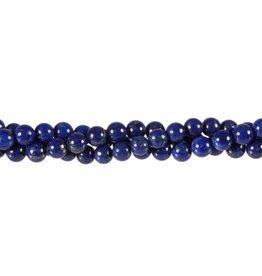 Lapis lazuli kralen A-kwaliteit rond 6 mm (streng van 40 cm)