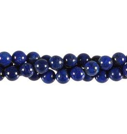Lapis lazuli kralen A-kwaliteit rond 8 mm (streng van 40 cm)