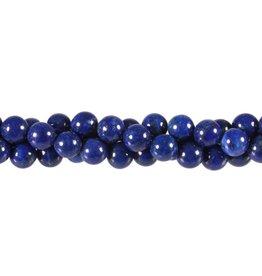 Lapis lazuli kralen rond 8 mm (streng van 40 cm)
