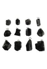 Toermalijn (zwart) hanger kristal