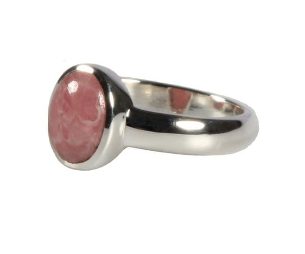 Rhodochrosiet ring