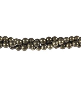 Pyriet kralen rond 10 mm (streng van 40 cm)