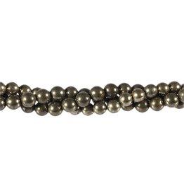 Pyriet kralen rond 6 mm (streng van 40 cm)