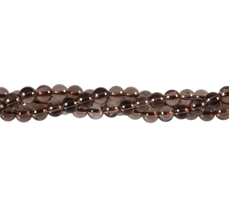 Rookkwarts kralen rond 6 mm (streng van 40 cm)