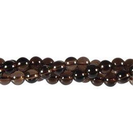 Rookkwarts kralen rond 8 mm (streng van 40 cm)