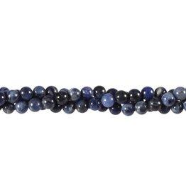 Sodaliet kralen rond 6 mm (streng van 40 cm)