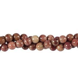 Thuliet kralen rond 8 mm (streng van 40 cm)