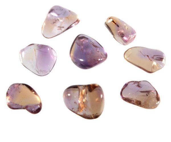 Ametrien steen getrommeld 5 - 10 gram