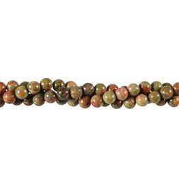 Unakiet kralen rond 6 mm (streng van 40 cm)