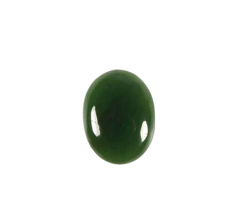 Jade cabochon ovaal 16 x 12 mm
