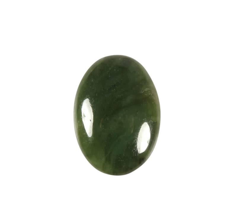 Jade cabochon ovaal 25 x 18 mm