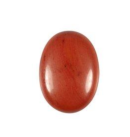 Jaspis (rood) cabochon ovaal 30 x 22 mm
