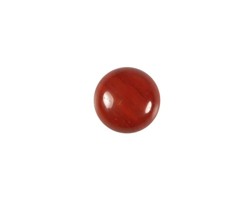 Jaspis (rood) cabochon rond 10 mm