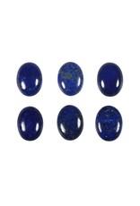 Lapis lazuli cabochon ovaal 16 x 12 mm