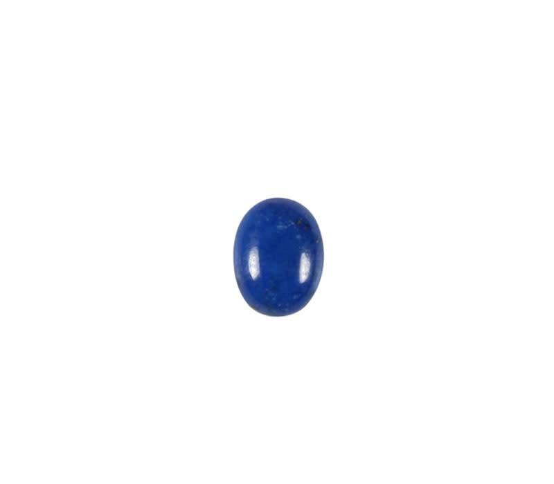 Lapis lazuli cabochon ovaal 8 x 6 mm