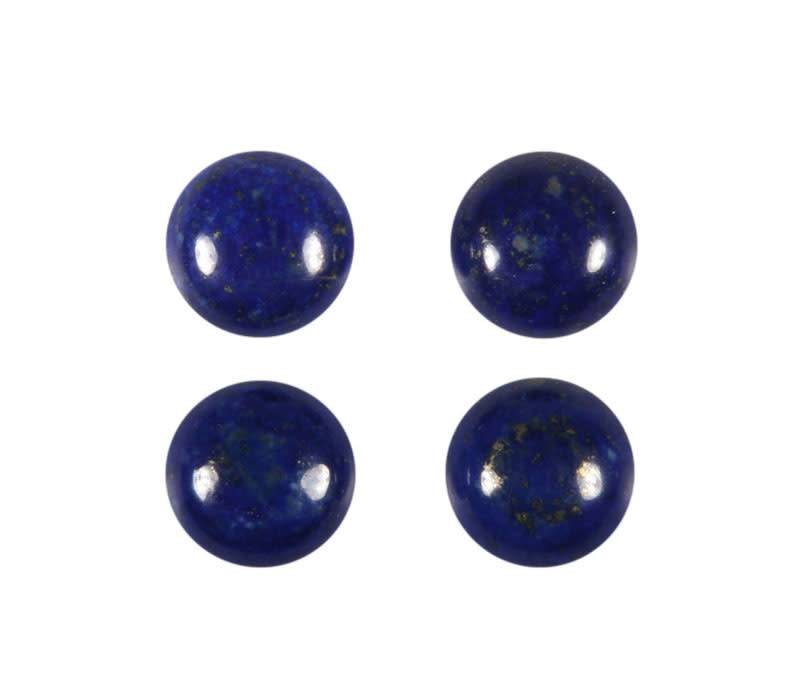 Lapis lazuli cabochon rond 10 mm