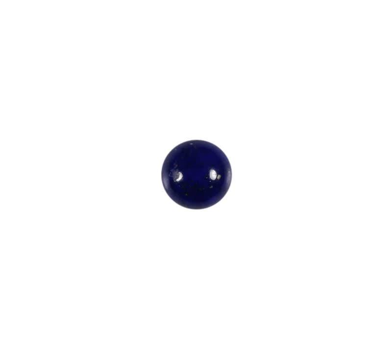 Lapis lazuli cabochon rond 6 mm
