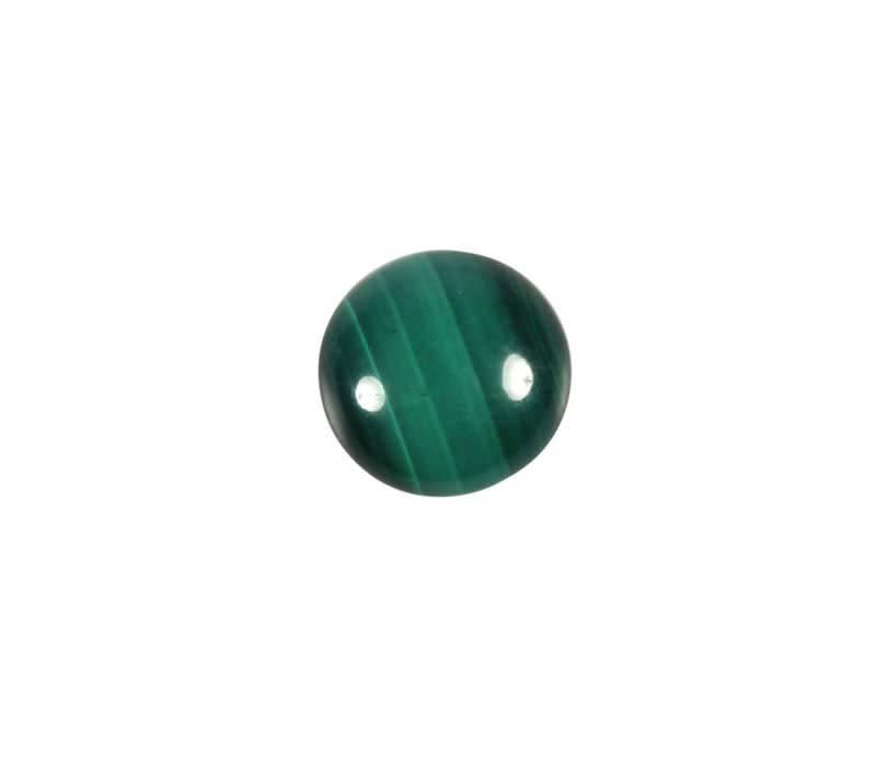 Malachiet cabochon rond 10 mm