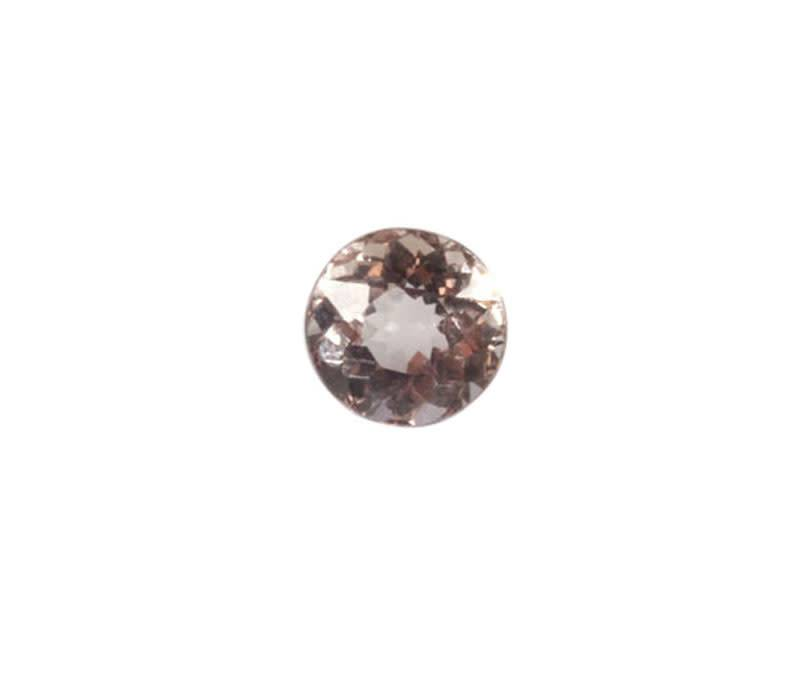 Gefacetteerde morganiet rond 6 mm