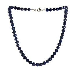 Lapis lazuli ketting A-kwaliteit 8 mm kralen