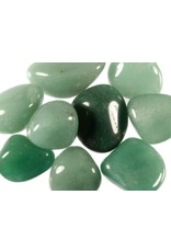 Kwarts (groen) steen getrommeld 10 - 15 gram