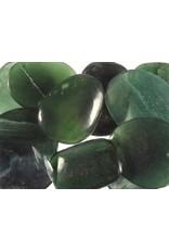 Kyaniet (groen) steen getrommeld 5 - 10 gram