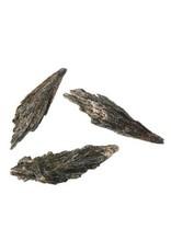 Kyaniet (zwart) ruw 5 - 10 gram