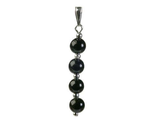 Zwarte obsidiaan sieraden