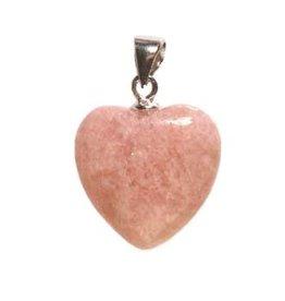 Zilveren hanger kunziet (Australie) hart 15 mm