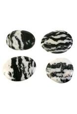 Zebra marmer steen plat gepolijst