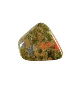 Unakiet steen getrommeld 5 - 10 gram