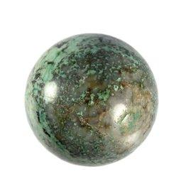 Turkoois (Tibetaans) edelsteen bol 61 mm